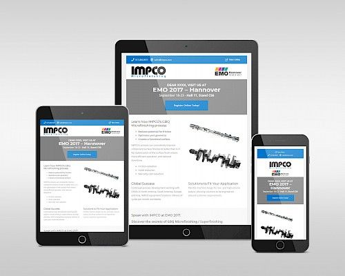 IMPCO Microfinishing - Email Newsletter